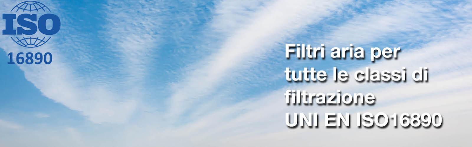 filtri aria UNI EN ISO 16890